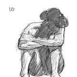 10 minute pose